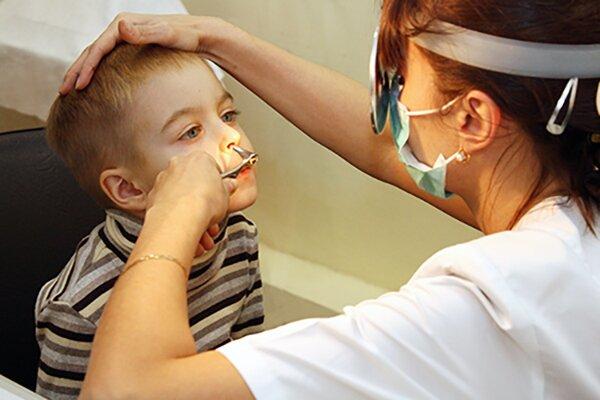 Антибиотики при аденоидах для детей